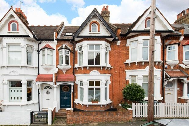 Thumbnail Terraced house for sale in Tulsemere Road, London