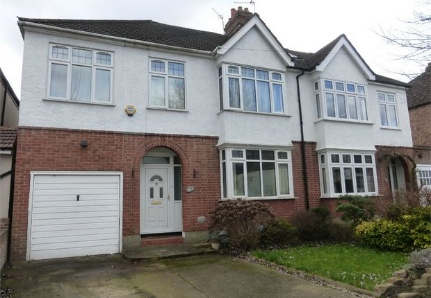 Thumbnail Semi-detached house for sale in Woodlands Road, Isleworth, Middlesex