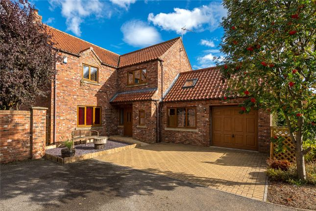 Thumbnail Detached house for sale in Broughton Road, Carlton-Le-Moorland, Lincoln, Lincolnshire