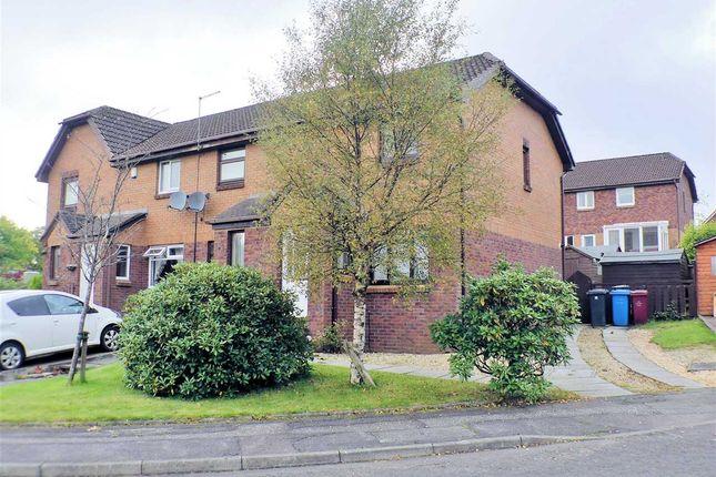 Thumbnail End terrace house for sale in Millburn Gardens, Gardenhall, East Kilbride
