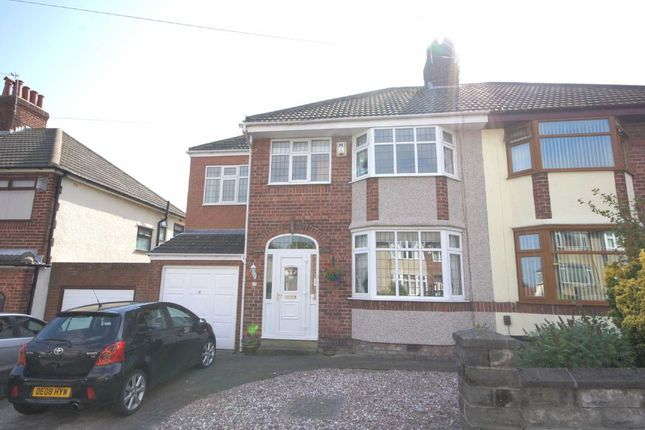 4 bed semi-detached house for sale in Kirkway, Bebington, Wirral