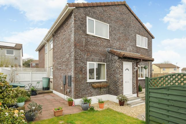 Thumbnail Semi-detached house for sale in Ferndale Close, Woolwell, Plymouth