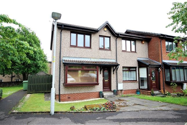Thumbnail End terrace house for sale in Oxhill Place, Dumbarton