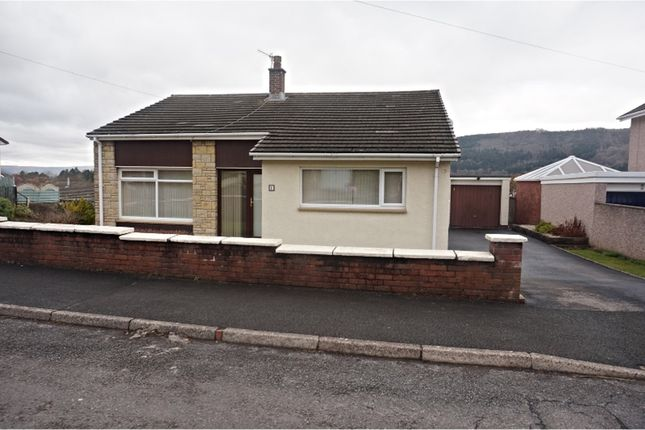 Thumbnail Detached bungalow for sale in Basildene Close, Abergavenny