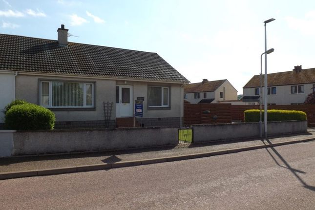 Thumbnail Semi-detached bungalow for sale in Church Road, Duffus, Elgin