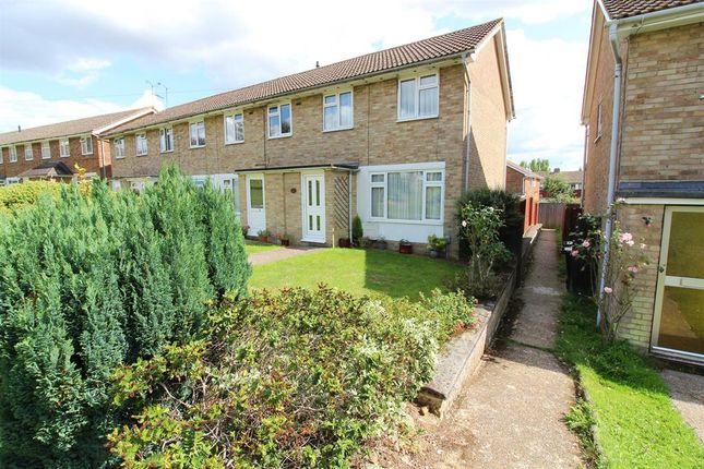 Thumbnail End terrace house for sale in Foxglove Green, Willesborough, Ashford
