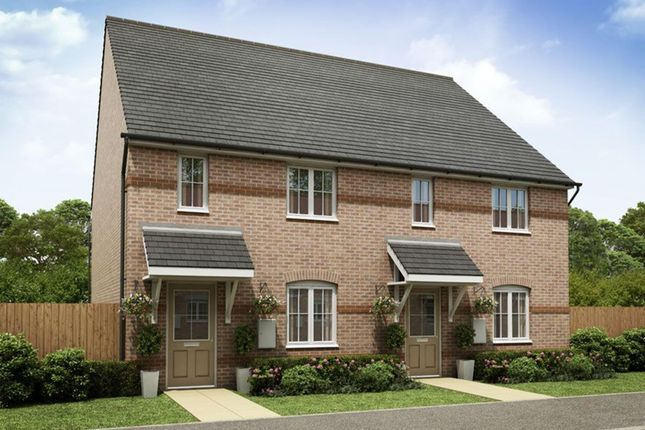 """Thumbnail Semi-detached house for sale in """"Burton"""" at Hollygate Lane, Cotgrave, Nottingham"""