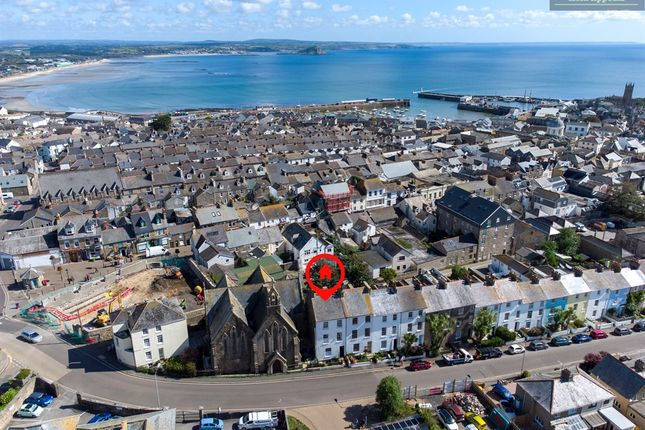 Thumbnail End terrace house for sale in Clarence Street, Penzance