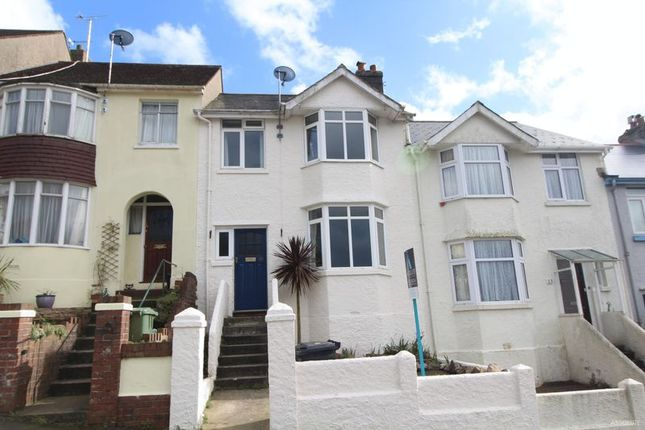 Thumbnail Terraced house to rent in Florida Road, Torquay
