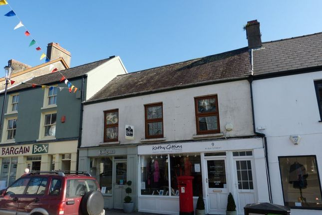 Thumbnail Flat to rent in High Street, Narberth, Pembrokeshire