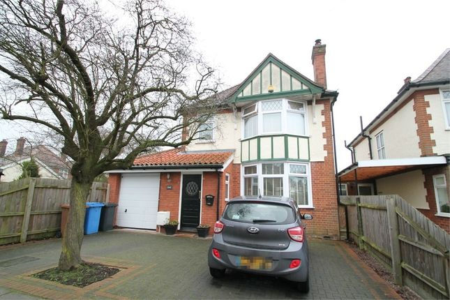 Thumbnail Detached house for sale in Norbury Road, Ipswich, Suffok