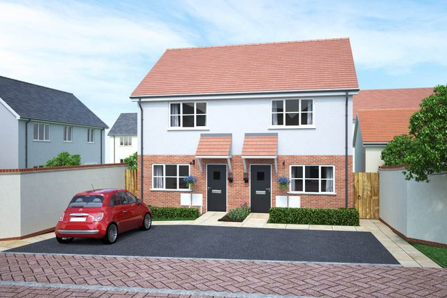 Thumbnail End terrace house for sale in Walters Field, Roundswell, Barnstaple