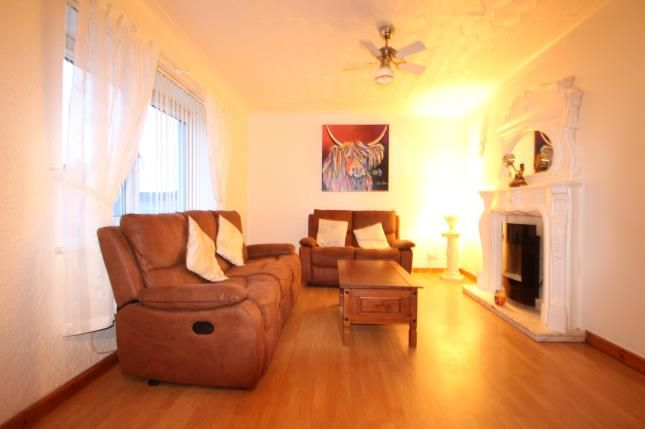 Lounge of Loanlea Crescent, Larkhall, South Lanarkshire ML9