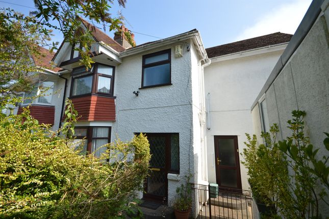 Thumbnail 3 bed semi-detached house for sale in Glynderwen Crescent, Sketty, Swansea