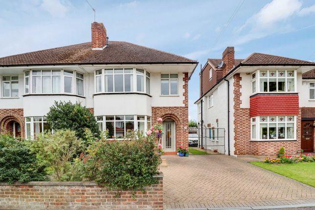 Thumbnail Semi-detached house for sale in Lyndhurst Avenue, Sunbury-On-Thames