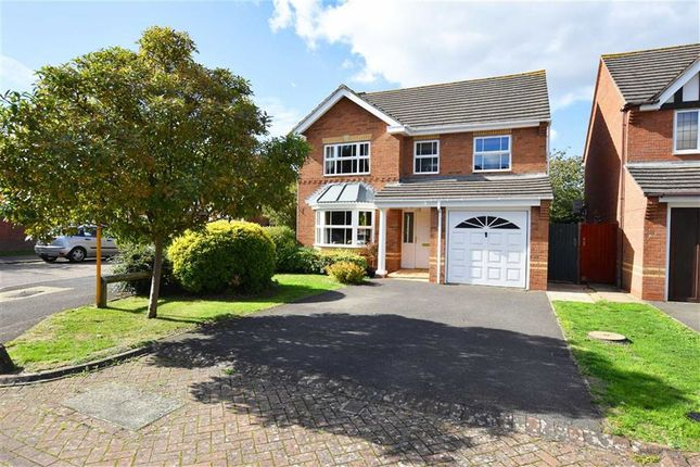 Thumbnail Detached house for sale in Braeburn Close, Longlevens, Gloucester