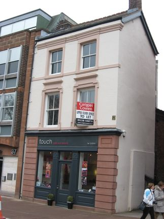 Office to let in Castle Street, 39 First Floor, Carlisle