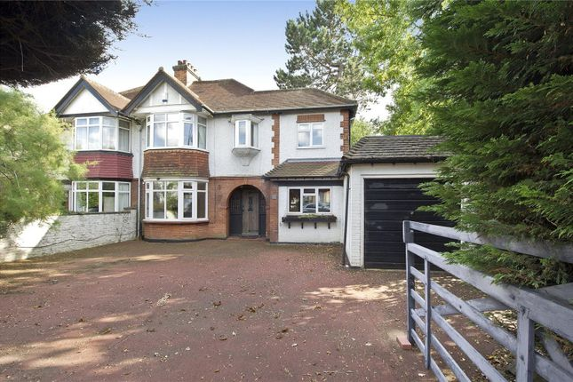 Thumbnail Semi-detached house for sale in Staines Road East, Sunbury-On-Thames, Surrey