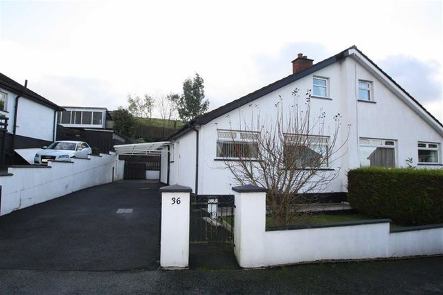 Thumbnail Semi-detached bungalow to rent in Craigs Road, Ballynahinch, Down