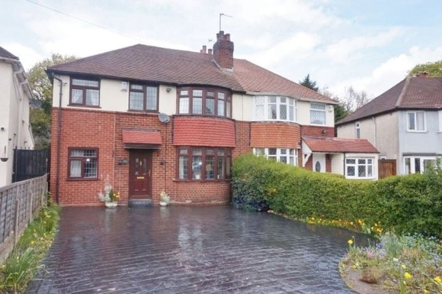 Thumbnail Semi-detached house for sale in Coronation Road, Great Barr