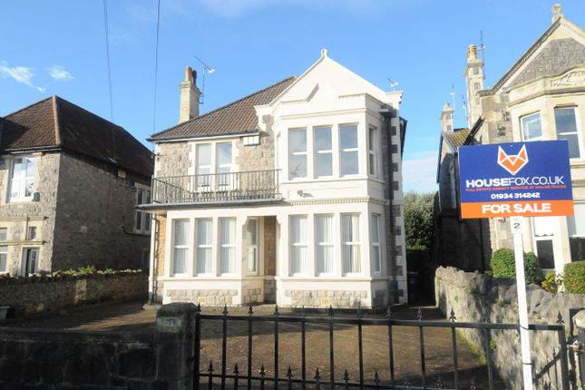 Thumbnail Flat for sale in Clarence Grove Road, Weston-Super-Mare