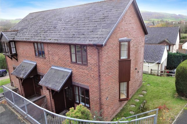 Thumbnail Semi-detached house for sale in Campion Close, Llanllwchaiarn, Newtown, Powys