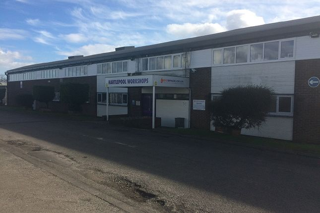 Office to let in Unit 16 Hartlepool Workshops, Usworth Road