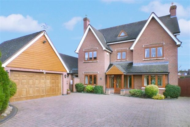 Thumbnail Detached house for sale in Kingfisher Way, Sheepy Parva, Atherstone