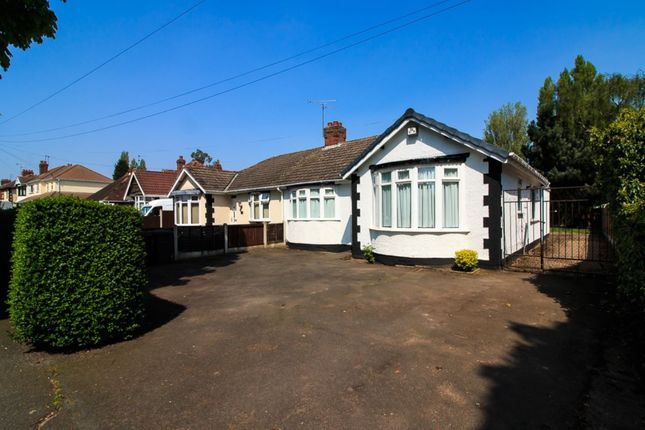 Thumbnail Bungalow for sale in Mill Lane, Wednesfield, Wolverhampton