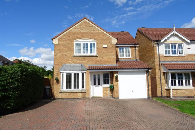 Thumbnail Detached house for sale in Water Meadow Way, Ibstock, Leicestershire