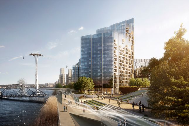 Thumbnail Flat for sale in Upper Riverside, Peninsula Square, London