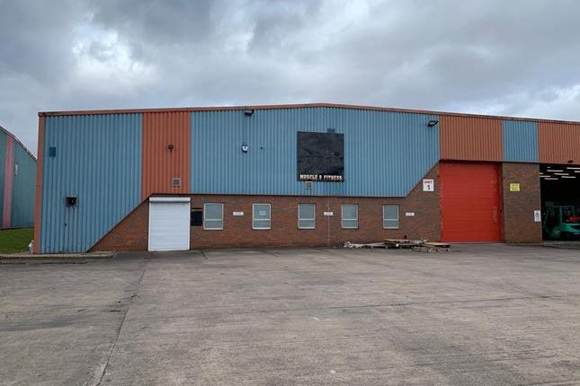 Thumbnail Light industrial to let in Menasha Way, Queensway Industrial Estate, Scunthorpe, North Lincolnshire