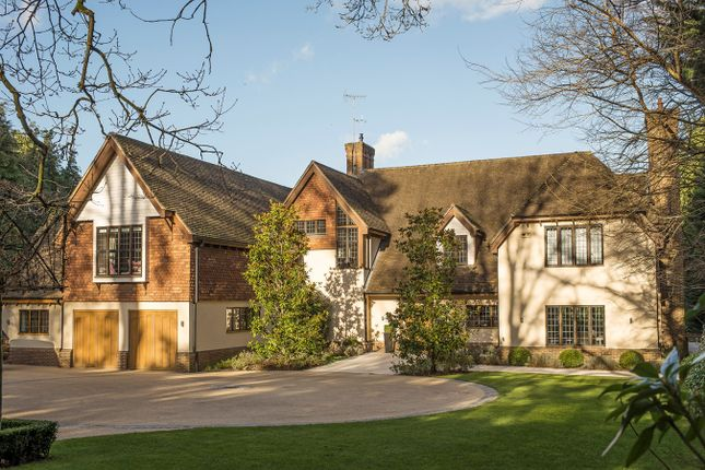 Thumbnail Detached house for sale in Yaffle Road, Weybridge