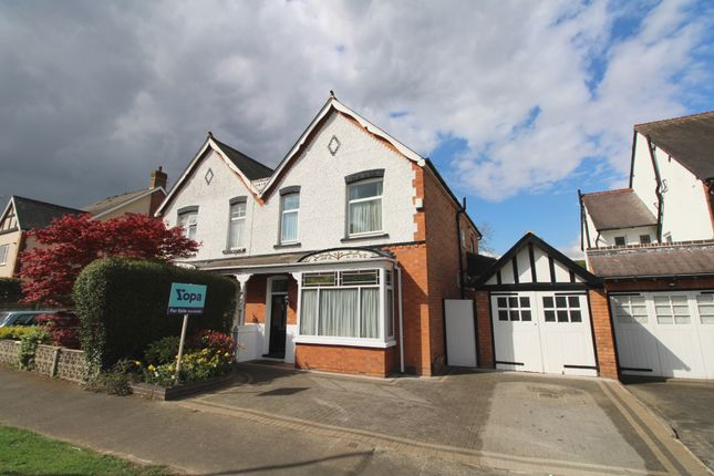 Thumbnail Semi-detached house for sale in Kineton Green Road, Solihull