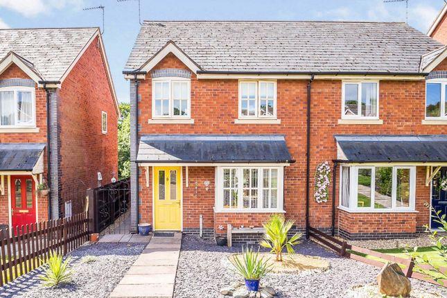 3 bed semi-detached house for sale in Dyffryn Foel, Llansantffraid, Powys SY22