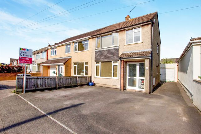 Thumbnail Semi-detached house for sale in Bradley Avenue, Winterbourne, Bristol