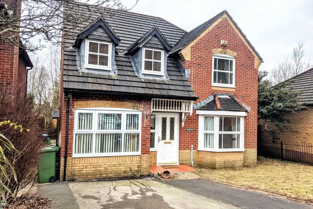 Thumbnail Detached house to rent in Dan Y Graig Heights, Talbot Green, Pontyclun