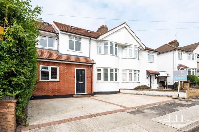 Thumbnail Semi-detached house for sale in Austral Drive, Hornchurch