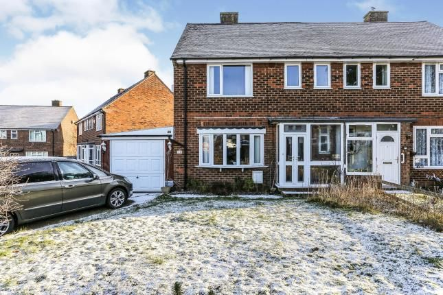 Thumbnail Semi-detached house for sale in Heath Gardens, Solihull, West Midlands
