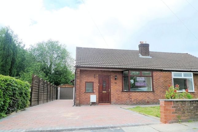 Thumbnail Semi-detached bungalow to rent in Birtenshaw Crescent, Bromley Cross, Bolton
