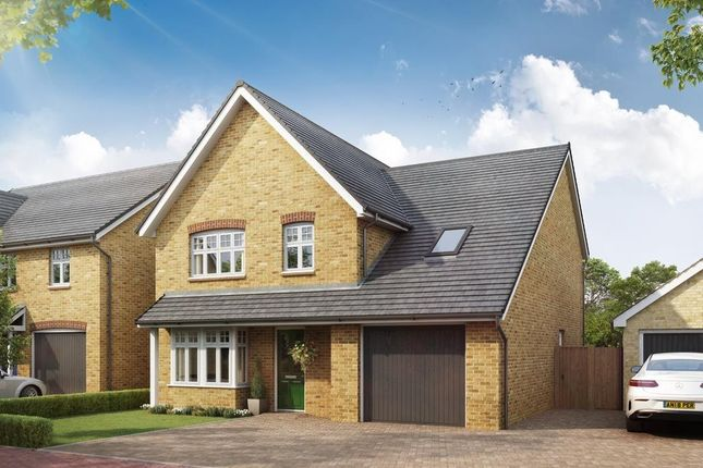 "Thumbnail Detached house for sale in ""Hertford"" at Southern Cross, Wixams, Bedford"