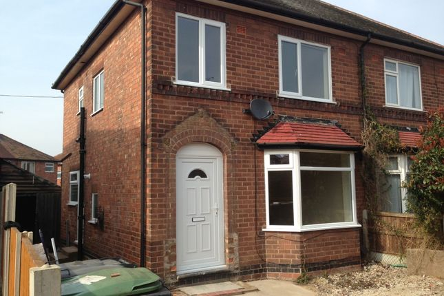 Semi-detached house to rent in Leyton Crescent, Beeston, Nottingham