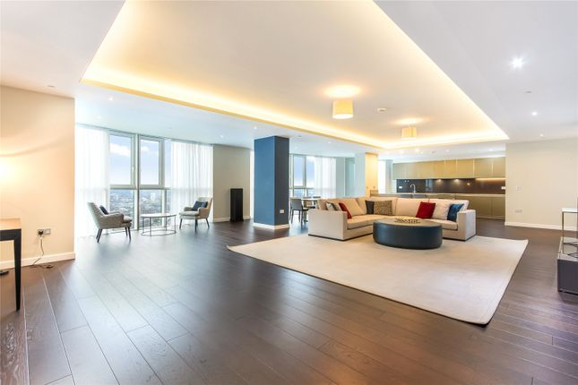 Thumbnail Flat to rent in Sky Gardens, 155 Wandsworth Road, London