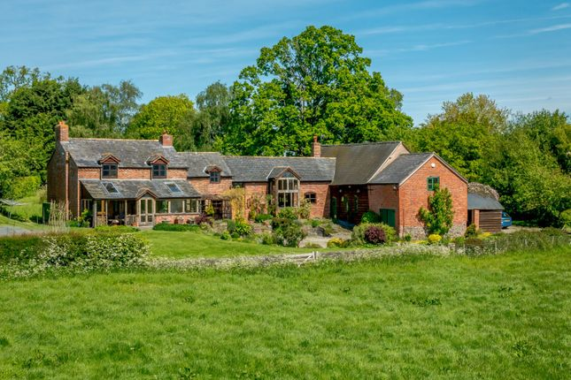 Thumbnail Detached house for sale in Arddleen, Llanymynech