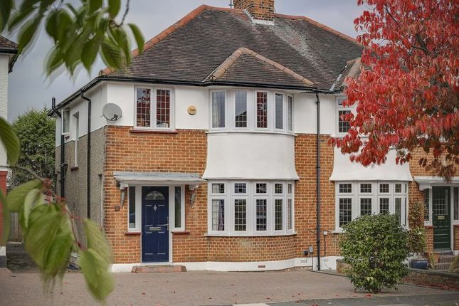 Thumbnail Semi-detached house for sale in Elmer Close, Enfield
