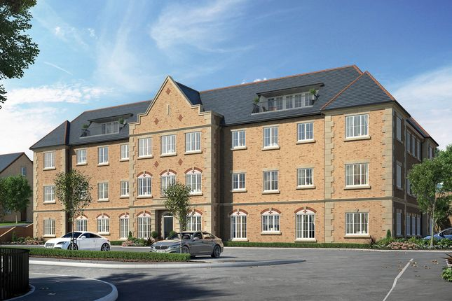 "Thumbnail Flat for sale in ""Harlington House"" at Hitchin Road, Fairfield, Hitchin"