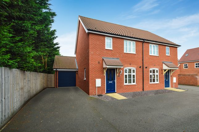 3 bed semi-detached house for sale in Spearmint Way, Red Lodge, Bury St. Edmunds
