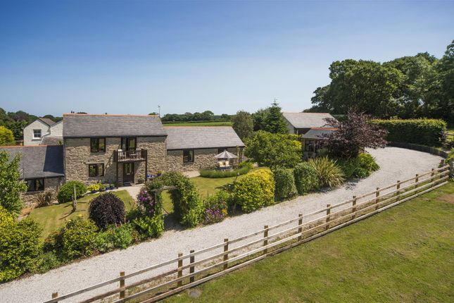 Thumbnail Barn conversion for sale in Trewedna Lane, Perranwell Station, Truro
