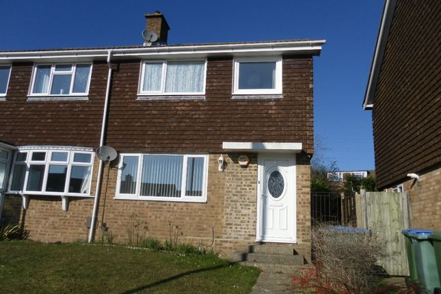 Thumbnail End terrace house for sale in Dore Avenue, Portchester