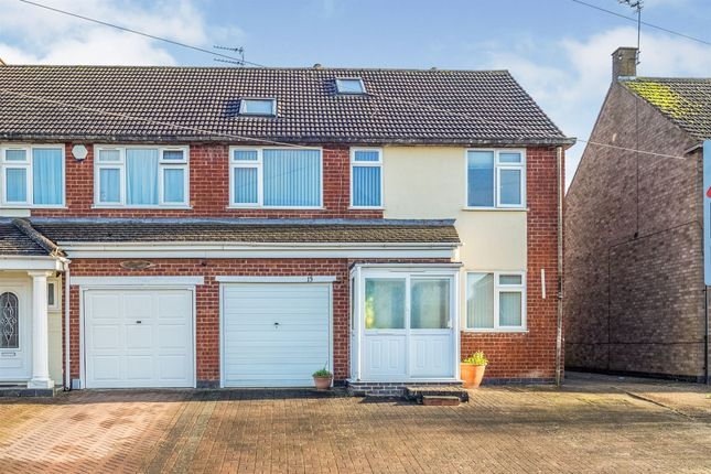 Thumbnail Semi-detached house for sale in Coppice Road, Whitnash, Leamington Spa